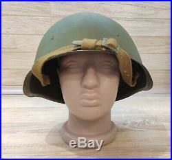 1940 Original Russian Military Soviet Army WWII SSh40 type Steel Helmet