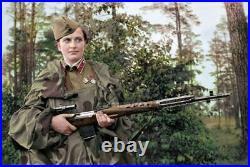 1940 Soviet Wwii Pu Scope For Svt-40 Sniper Rifle Russian Army Original