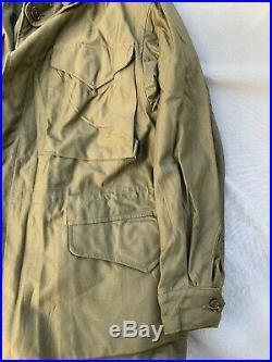 Amazing Unissued Original Wwii Us Army M-43 Field Jacket Size 40s Wow