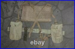 Australian Army Basic Web Set 1937 Pattern Good Used Genuine Issue