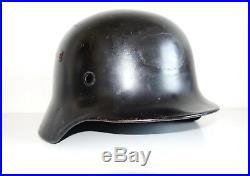 Czech civil reissue German army original WW2 M35 helmet shell size NS62 inv#633