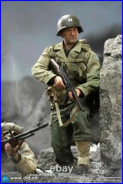 DID A80145 1/6 WWII US Rangers Army Commander Captain Miller 12'' Action Figure