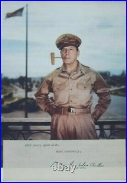 General Douglas MacArthur Signed Autograph General Of The Army World War II