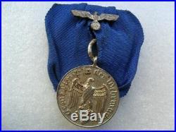 German ww2 Third Reich original medal 4 years Army service
