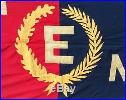 Guaranteed Original WWII 8' Army-Navy E Excellence in Production Award Flag