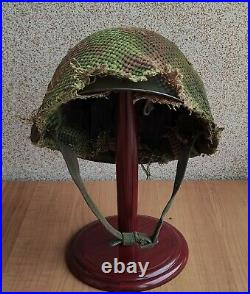 Helmet Steel SSh 40 WWII Original Russian Military Soviet Army RKKA WW2 number
