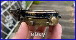 J. W Handley WWII Issue Australian Army Compass. Melb 1941 #2724 Brass. Authe