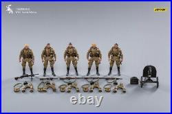 JOYTOY Military Series 1/18 WWII Soviet Army Officer JT0838 5pc Figure Set Model