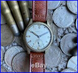 Leonidas ATP ref 1018 WWII British Military watch WWW all original Army