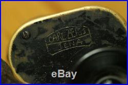 ORIGINAL WWII CARL ZEISS German Army WEHRMACHT BINOCULARS Dienstglas D. F. 6X30