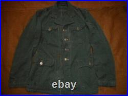 ORIGINAL genuine WW2 GERMAN field police TUNIC world war two