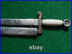 Original Croatian Ww II Army Dress Dagger M 1941