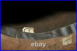 Original Early WW2 U. S. Army Soldiers Campaign Hat withSignal Corps Cord & Acorns