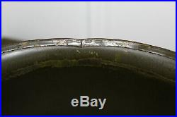 Original Late WW2 U. S. Army 4th Army M. P. Painted M1 Helmet with45' dated Liner