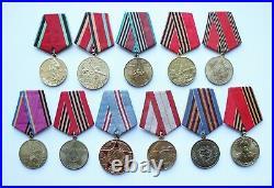 Original Order Courage Bravery WWII Veteran Soviet Service Army Victory Germany