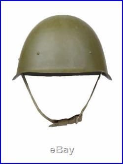 Original Russian Military Soviet Army WW II SSh-40 Steel Helmet 1950-70 USSR