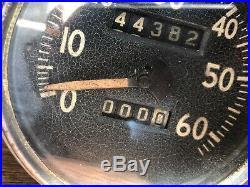 Original Speedometer Speedo WWII Jeep Ford GPW Willys MB Army Military 1944 Date