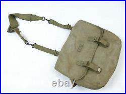 Original US ARMY WW2 Musette Bag M-1936 khaki Kampftasche mit Trageriemen