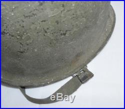 Original US Army Stahlhelm Helmet M1 WK2 WWII Fach A5