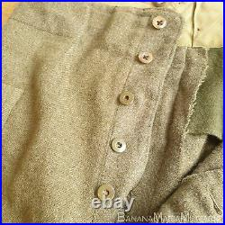 Original WW2 Canadian Army BD Battle dress serge Trousers 1945 dated LARGE