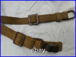 Original WW2 GERMAN ARMY ELITE wss TROPICAL Y STRAPS dak afrikakorps late war