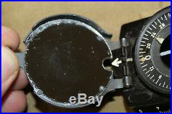 Original WW2 German Army Officers/Soldiers Field March Compass withCord