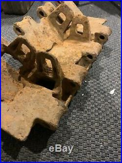Original WW2 German Army Panzer V Panther Tank Track Pair Found in Normandy