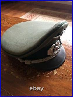 Original WW2 German Wehrmacht Officers Peaked Cap