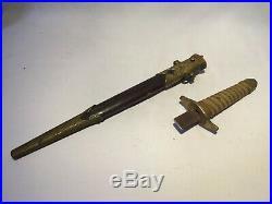 Original WW2 Imperial Japanese Army Navy dagger short sword Katana antique
