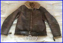 Original WW2 Irvin RAF Flying Jacket Size Medium to Large