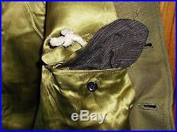 Original WW2 Japanese IJA RARE Army Officer Uniform Rank Insignia Patch jacket