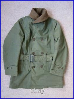 Original WW2 M-1938 Mackinaw Jeep Coat, Size 36R, Like Real McCoys, Buzz Rickson