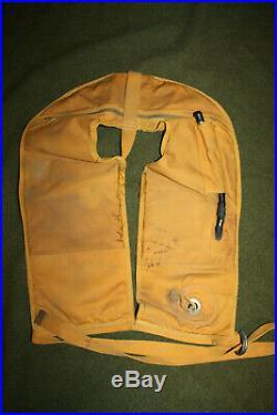 Original WW2 U. S. Army Air Forces Life Vest Preserver, Pneumatic Type B-5