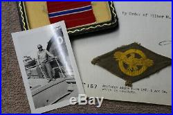Original WW2 U. S. Army Luzon Combat Veteran's Bronze Star Award & Document Lot