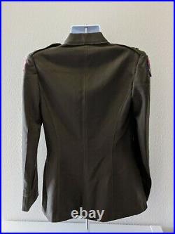 Original WW2 U. S. Army Womens Officer Uniform Medical Specialist 16L