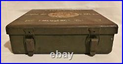 Original WW2 US American 24 Unit Motor Vehicle Tank Half-track First Aid Kit