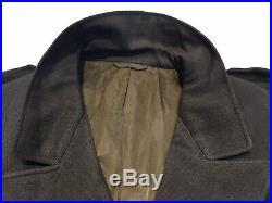 Original WWII ANC WAC WAAC U. S. Army Nurse Summer OD Officer Jacket With Patch