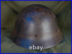 Original WWII Japanese Army Helmet World War II WW2 Military MOB001