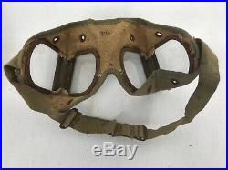 Original WWII Japanese Army Issued Motorcycle Goggles