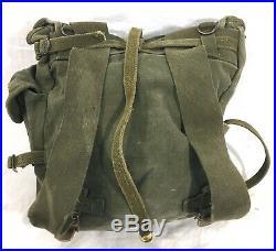 Original WWII U. S. ARMY M1945 Canvas Bag #A50