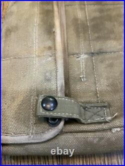 Original WWII U. S. ARMY PARATROOPER M1 GARAND HOLSTER RIFLE GRISWOLD BAG OD3