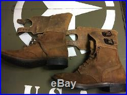Original WWII US Army boots
