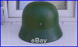 Original WWII WW2 German Army Relic M42 Combat Steel Helmet
