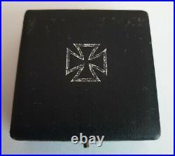 Original World War II German Catch-Clasp Iron Cross 1st Class Presentation Box