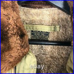 Original Wwii Arnoff US Army Air Force B-15A Flight Jacket