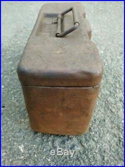 Original Wwii German Army Box For 3-x Smi 35 Mines Wh