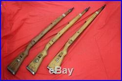 Original Wwii German Army Wooden Rifle Stock K98 Mauser