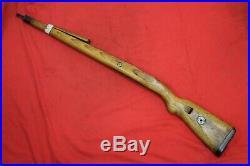 Original Wwii German Army Wooden Rifle Stock K98 Mauser. German Marking. 4