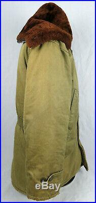 Original Wwii Korean War Era Us Army / Usaaf / Usaf B-9 Parka XXL Size Nice