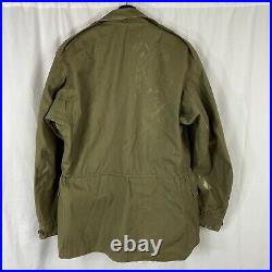 Original Wwii US Army M43 Field Jacket Small